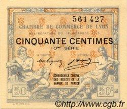 50 Centimes FRANCE régionalisme et divers LYON 1919 JP.077.18 TTB à SUP