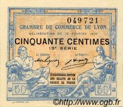 50 Centimes FRANCE régionalisme et divers Lyon 1920 JP.077.20 SPL à NEUF