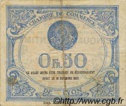 50 Centimes FRANCE régionalisme et divers Lyon 1920 JP.077.20 TB