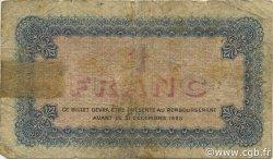 1 Franc FRANCE régionalisme et divers Lyon 1921 JP.077.25 TB
