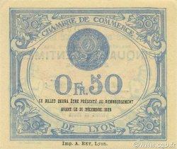 50 Centimes FRANCE régionalisme et divers Lyon 1922 JP.077.26 SPL à NEUF