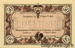 50 Centimes FRANCE régionalisme et divers Macon, Bourg 1915 JP.078.01 SPL à NEUF