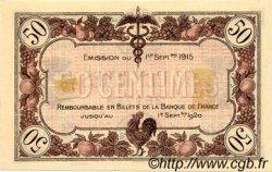 50 Centimes FRANCE régionalisme et divers Macon, Bourg 1915 JP.078.01 TTB à SUP