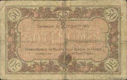 50 Centimes FRANCE régionalisme et divers Macon, Bourg 1915 JP.078.01 TB