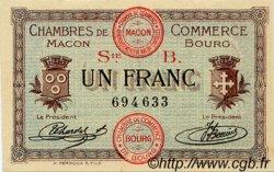 1 Franc FRANCE régionalisme et divers Macon, Bourg 1915 JP.078.03 SPL à NEUF