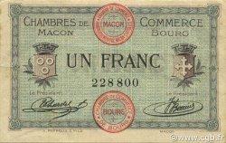 1 Franc FRANCE régionalisme et divers MACON, BOURG 1915 JP.078.03 TB