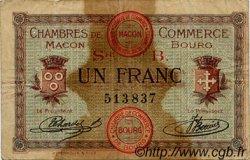 1 Franc FRANCE régionalisme et divers Macon, Bourg 1915 JP.078.06 TB