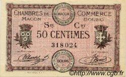 50 Centimes FRANCE régionalisme et divers Macon, Bourg 1915 JP.078.07 SPL à NEUF