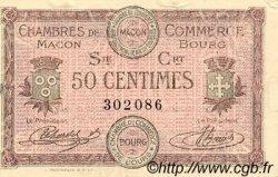 50 Centimes FRANCE régionalisme et divers Macon, Bourg 1915 JP.078.07 TTB à SUP