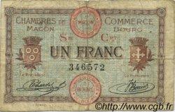 1 Franc FRANCE régionalisme et divers Macon, Bourg 1915 JP.078.08 TB