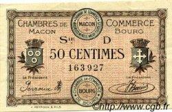 50 Centimes FRANCE régionalisme et divers MACON, BOURG 1917 JP.078.09 TTB à SUP