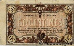 50 Centimes FRANCE régionalisme et divers Macon, Bourg 1917 JP.078.09 TB