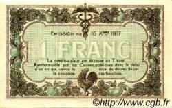 1 Franc FRANCE régionalisme et divers Macon, Bourg 1917 JP.078.10 TTB à SUP