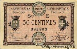 50 Centimes FRANCE régionalisme et divers MACON, BOURG 1920 JP.078.11 TTB à SUP