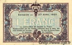 1 Franc FRANCE régionalisme et divers MACON, BOURG 1920 JP.078.12 TTB à SUP