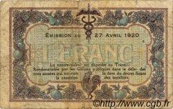 1 Franc FRANCE régionalisme et divers MACON, BOURG 1920 JP.078.12 TB