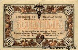 50 Centimes FRANCE régionalisme et divers Macon, Bourg 1921 JP.078.13 TTB à SUP
