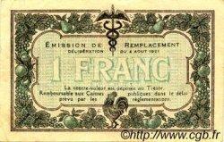 1 Franc FRANCE régionalisme et divers Macon, Bourg 1921 JP.078.14 TTB à SUP