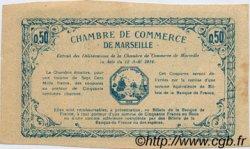 50 Centimes FRANCE régionalisme et divers Marseille 1914 JP.079.07 TTB à SUP