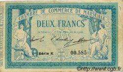 2 Francs FRANCE régionalisme et divers MARSEILLE 1914 JP.079.18 TB