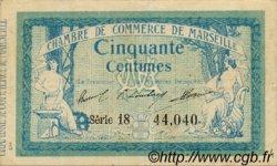 50 Centimes FRANCE régionalisme et divers MARSEILLE 1914 JP.079.27 TTB à SUP