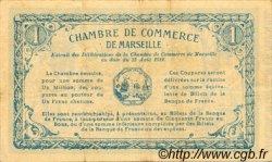 1 Franc FRANCE régionalisme et divers MARSEILLE 1914 JP.079.31 TTB à SUP