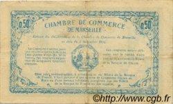 50 Centimes FRANCE régionalisme et divers MARSEILLE 1915 JP.079.45 TTB à SUP