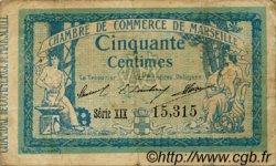50 Centimes FRANCE régionalisme et divers Marseille 1915 JP.079.45 TB