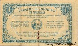 1 Franc FRANCE régionalisme et divers MARSEILLE 1915 JP.079.49 TTB à SUP