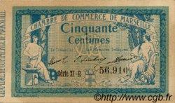50 Centimes FRANCE régionalisme et divers Marseille 1915 JP.079.56 SPL à NEUF