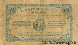 50 Centimes FRANCE régionalisme et divers MARSEILLE 1915 JP.079.56 TB