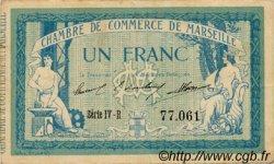 1 Franc FRANCE régionalisme et divers MARSEILLE 1915 JP.079.60 TTB à SUP