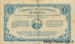 1 Franc FRANCE régionalisme et divers Marseille 1915 JP.079.60 TB