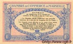 1 Franc FRANCE régionalisme et divers MARSEILLE 1917 JP.079.64 SPL à NEUF