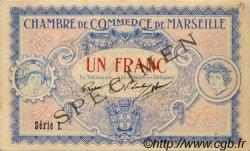 1 Franc FRANCE régionalisme et divers MARSEILLE 1917 JP.079.65 TTB à SUP