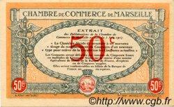 50 Centimes FRANCE régionalisme et divers Marseille 1917 JP.079.67 SPL à NEUF