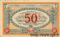 50 Centimes FRANCE régionalisme et divers Marseille 1917 JP.079.67 TTB à SUP