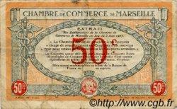 50 Centimes FRANCE régionalisme et divers MARSEILLE 1917 JP.079.67 TB