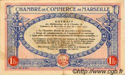 1 Franc FRANCE régionalisme et divers MARSEILLE 1917 JP.079.70 SPL à NEUF