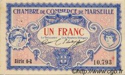 1 Franc FRANCE régionalisme et divers Marseille 1917 JP.079.70 TTB à SUP