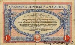 1 Franc FRANCE régionalisme et divers Marseille 1917 JP.079.70 TB