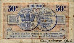 50 Centimes FRANCE régionalisme et divers Melun 1915 JP.080.01 TB