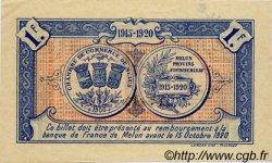 1 Franc FRANCE régionalisme et divers MELUN 1915 JP.080.04 SPL à NEUF