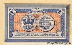 2 Francs FRANCE régionalisme et divers Melun 1915 JP.080.05 TTB à SUP