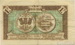 1 Franc FRANCE régionalisme et divers Melun 1919 JP.080.08 TB
