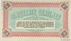 50 Centimes FRANCE régionalisme et divers MENDE 1918 JP.081.05 TTB à SUP