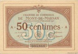 50 Centimes FRANCE régionalisme et divers Mont-De-Marsan 1914 JP.082.01 SPL à NEUF