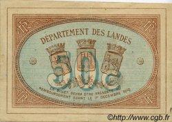 50 Centimes FRANCE régionalisme et divers MONT-DE-MARSAN 1914 JP.082.03 TTB à SUP