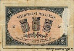 1 Franc FRANCE régionalisme et divers MONT-DE-MARSAN 1914 JP.082.07 TB