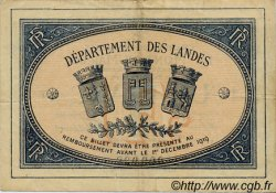 1 Franc FRANCE régionalisme et divers MONT-DE-MARSAN 1914 JP.082.15 TTB à SUP